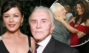 Catherine Zeta-Jones pays memorial to late father-in-law Kirk Douglas: 'I  miss you already' | Daily Mail Online