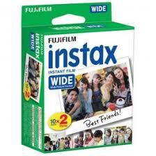 <b>FUJI Instax Wide</b> Instant Film <b>2 pack 10</b> shots per pack | Dodd Camera