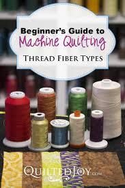 Beginner's Guide to Machine Quilting: Thread Fiber Types - & Beginner's Guide to Machine Quilting: Thread Fiber Types. Modern thread is  offered in a Adamdwight.com
