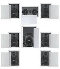 home theater in wall speakers. image is loading flush-mount-in-wall-speakers-7-1-home- home theater in wall speakers