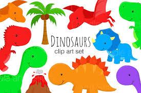 clipart images dinosaur clipart illustrations by doodl design bundles
