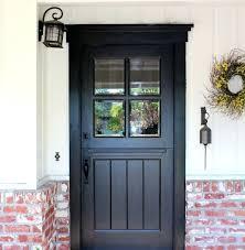 exterior dutch door craftsman transitional doors with screen