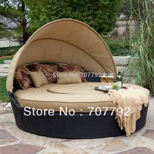 Round Outdoor Bed Online Buy Wholesale Round Rattan Outdoor Bed From China Round