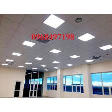 Đèn led panel hộp 600x600 công suất 48w thả trần-Đèn led panel trần thạch  cao chính hãng 248,000đ