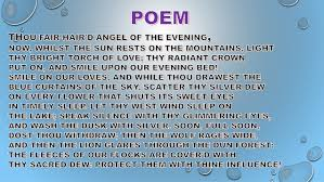 to the evening star poem analysis william blake artwork