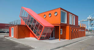 container office building. Shipping Container Terminal Office Building By Potash Architects