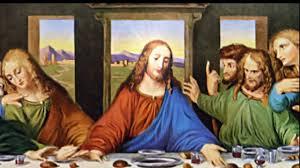 last supper animated painting by leonardo davinci