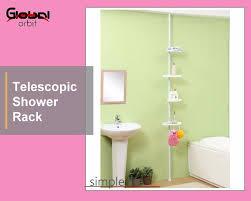 Telescopic Shower Corner Shelves Telescopic Bathroom Corner Shelf Wholesale Shelf Suppliers Alibaba 35