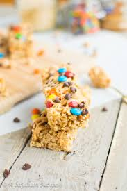monster cookie granola bars a