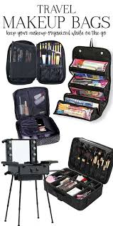 genius makeup tips for travelers the best travel makeup bags going on a trip