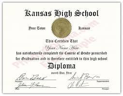 High School Deploma High School Fake Diplomas Fake High School Degrees And Transcripts