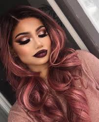 you can t get more flawless then this hair and makeup are so alina gea used our gel liner in slate and blush palette we are crazy about this look