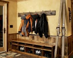 Coat Rack And Shoe Rack Furniture Exciting Rustic Coat Hooks Wall Mounted With Seats And 57