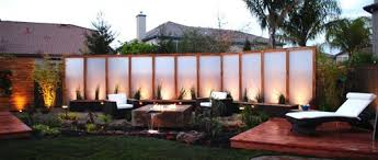 ... Peaceful Design Ideas Backyard Privacy Screens Garden With Outdoor For  The ...