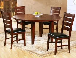 round drop leaf dining tables drop leaf round dining table in dark oak beyond s oval