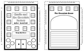 charlie and the chocolate factory by roald dahl teaching resources charlie and the chocolate factory group project templates and printable worksheets