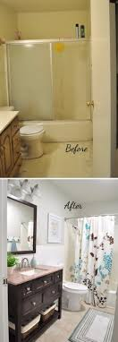 Before and After: 20+ Awesome Bathroom Makeovers | Hall bathroom ...