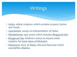 practices of hinduism  vedas oldest scripture which contains  2