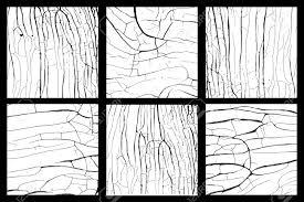 Legno Bianco Nero : In legno bianco e nero texture disstressed insieme vettoriale