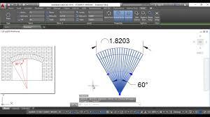 Segmental Arch Design Draw Segmental Arch Using Autocad