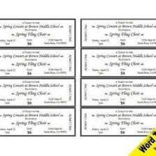 Fundraiser Raffle Tickets Ticket Templates 317140666844