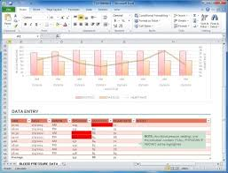 Blood Pressure Forms For Tracking Blood Pressure Tracker Template For Microsoft Excel Marvelous Excel