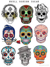 Day Of The Dead Skull Designs Pin On Day Of The Dead Year 9