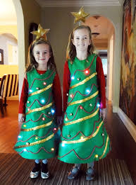 Light Up Christmas Tree Costume
