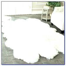 white faux cowhide rug exotic hide fur black grey and