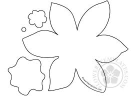 Daffodil Paper Flower Pattern Daffodil Paper Flower Cut Out Flowers Templates