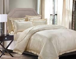image of solid beige comforter