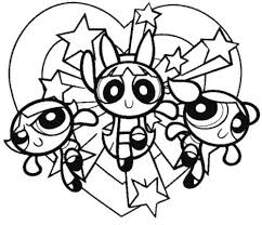powerpuff coloring pages. Brilliant Powerpuff The Powerpuff Girls Are Hugging Coloring Pages   Inside G