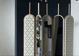 Gallotti & radice chloe mirrored screen gallotti & radice furniture