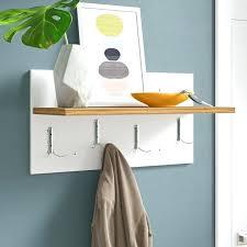 modern wall coat rack contemporary hooks hangers best