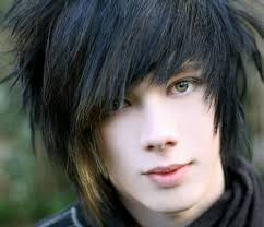 Guy Long Hair Style gothic hairstyles for men cool men hairstyles 5261 by wearticles.com