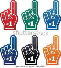 foam finger clipart. pin fan clipart finger #2 foam m