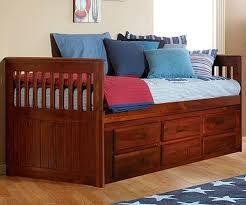 Discovery World Furniture merlot Rake Captains Bed 2835 6
