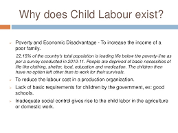 child labour essay 8 why does child