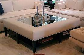 custom upholstered ottomans and benches