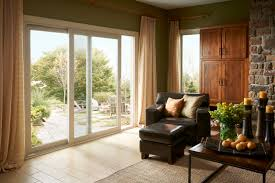 sliding patio doors simply glide from left to right