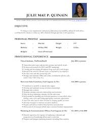 Example Of Resume Of A Teacher Teacher Resume Sample Doc India Danayaus 11