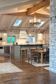 lighting for beams. Image By: Armstrong Kitchens Inc Lighting For Beams