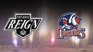 bakersfield condors know who they will play in 2018 19