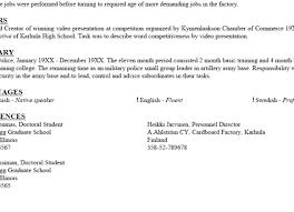 My Free Resume My Resume Builder Cv Free Jobs Krida 99