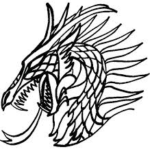 Fantasy Dragon Coloring Pages At Getdrawingscom Free For Personal