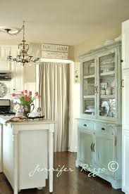 Kitchen Hutch Furniture How To Make A New Piece Of Furniture Look Old With Paint And