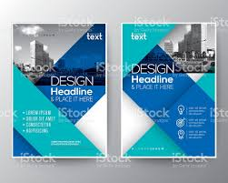 blue brochure annual report cover flyer poster design layout blue brochure annual report cover flyer poster design layout template royalty stock vector art