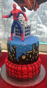 Spiderman Birthday Cake Cakecentralcom