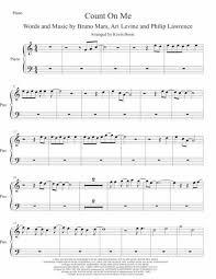 Swing zara piano notes jai lava kusa. Count On Me Easy Key Of C Piano Sheet Music Pdf Download Sheetmusicdbs Com
