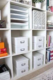 home office storage boxes. How To Organize Ikea Shelf Home Office Storage Boxes B